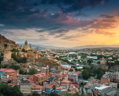tbilisi steden georgie