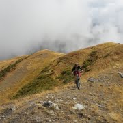 Mountainbiken in Georgie mtb